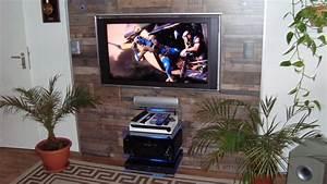 Tv An Wand Anbringen : tv wand selber bauen ganz einfach youtube ~ Markanthonyermac.com Haus und Dekorationen