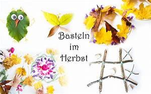Basteln Im Herbst : basteln mit kindern im herbst 8 ideen mit naturmaterialien mama kreativ ~ Markanthonyermac.com Haus und Dekorationen