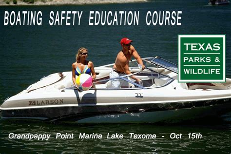 Texas Boating Course by Boating Safety Education Course At Grandpappy Marina On