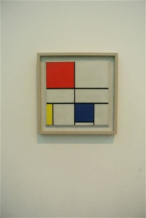 piet mondrian composition c no iii with yellow and blue picture of tate modern