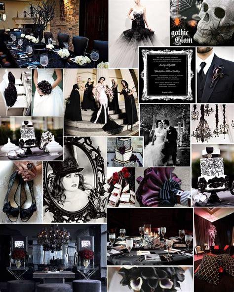 Themed Thursday Gothic Glam  Halloween Wedding