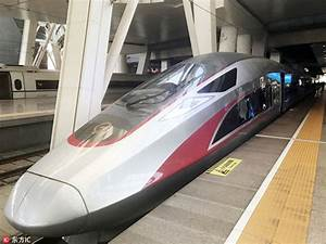 New bullet train travels at record-breaking 350 km/h