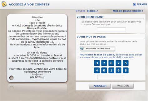 se connecter au compte ccp banque postale cr 233 dit et banque