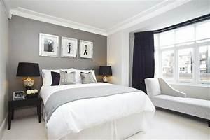 Wandfarben Ideen Schlafzimmer : mehr als 150 unikale wandfarbe grau ideen ~ Markanthonyermac.com Haus und Dekorationen
