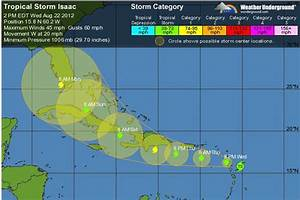 Tracking Hurricane Isaac Isaac On The Verge Of Turning ...