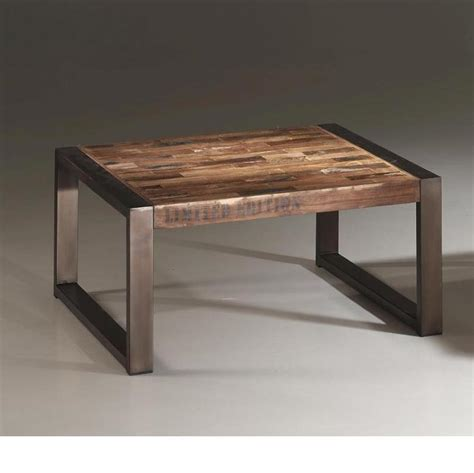 table basse carree metal home design architecture cilif