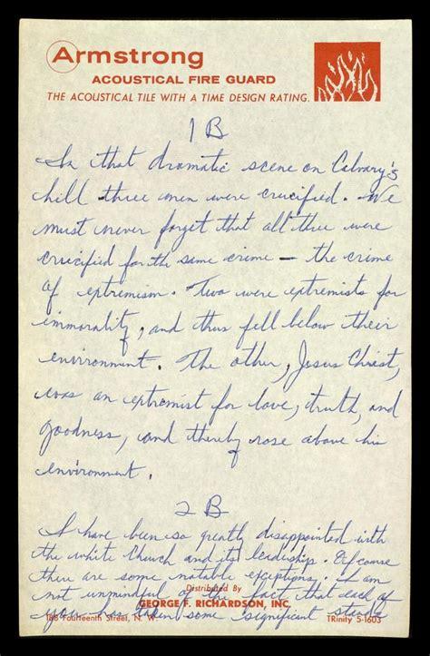 Letters From Birmingham Jail Thetristonfordummies