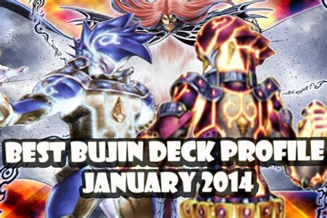 yugioh best bujin deck profile january 2014 banlist