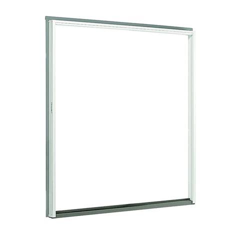 andersen 72 in x 80 in 200 series perma shield sliding patio door white right frame kit