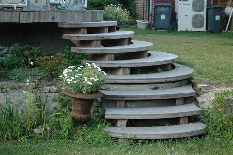jardin nicolas dupriez escaliers bois