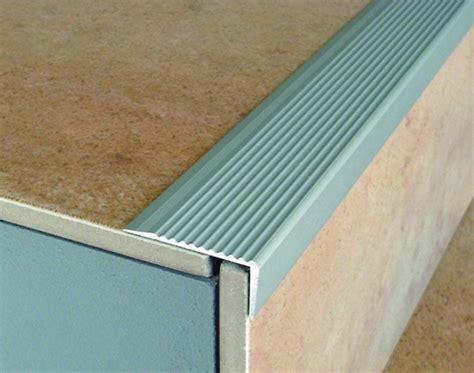 aluminium stair nosing for laminate carpet tile lino
