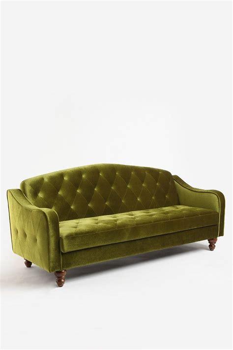 velvet tufted sleeper sofa