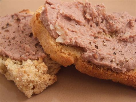 faux gras silky smooth chicken liver pate we are not foodies
