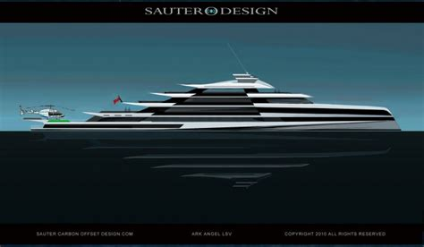 Ark Angel Boat by Sauter Carbon Offset Design Motor Yacht Ark Angel Yacht