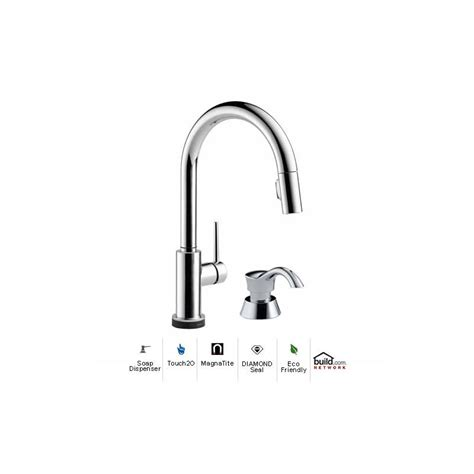 faucet 9159t dst sd in chrome by delta