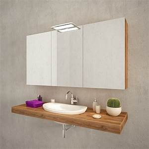 Spiegelschrank Aufbauleuchte Bad : bad spiegelschrank mit aufbauleuchte nikita ~ Markanthonyermac.com Haus und Dekorationen