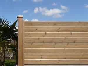 palissade bois exterieur pas cher 4 lame en 233pic233a pour cl244ture bois persienne