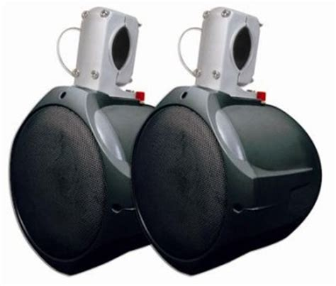Best Rated Boat Tower Speakers by New 6 5 Quot Wakeboard Tower Speakers Marine Boat Pair 200w