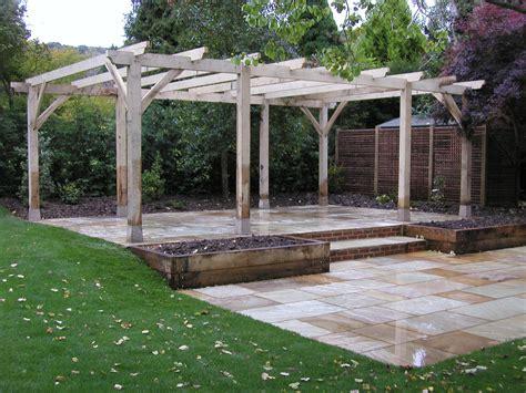adl timber structures pergolas garden landscaping sevenoaks