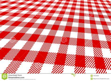 et blanc de nappe du pique nique 3d image libre de droits image 18124666