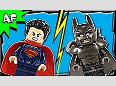 Lego Batman V Superman CLASH OF HEROES 76044 Stop Motion