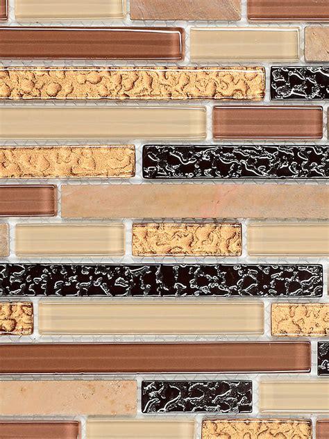 Best Color For Kitchen Cabinets 2014 by Beige Brown Gold Glass Marble Mosaic Tile For Backsplash