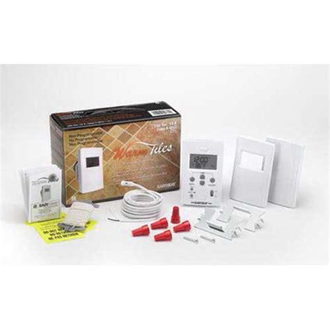 easy heat rk 2 warm tiles 174 thermostat relay kit 24 resistive 240 volt ac crescent