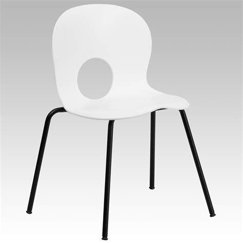 hercules series 770 lb capacity designer white plastic
