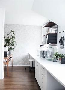 String Regal Ikea : mein arbeitszimmer nun auch gef hlt endlich fertig mein zuhause my home pinterest ikea ~ Markanthonyermac.com Haus und Dekorationen