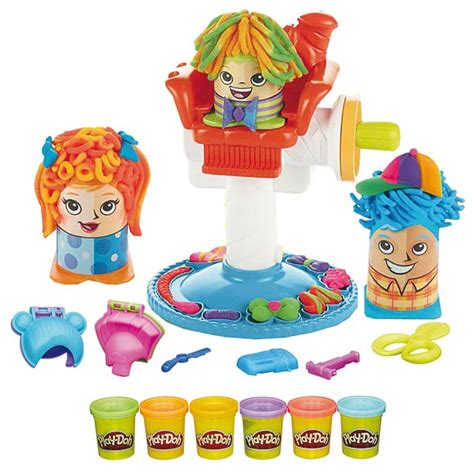 play doh le coiffeur play doh king jouet pate 224 modeler