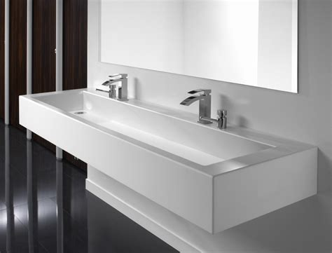 Sinks With Vanity Units solid surface washtrough bushboard washrooms