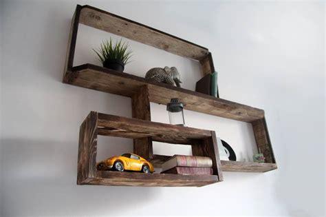 etagere murale en bois