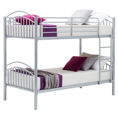 3 person bunk bed metal bunk bed frame 2 person 3ft single for