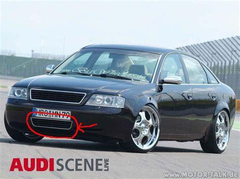 Audia6c51024  Audi A6 4b Chrom Gitter Stoßstange Vor