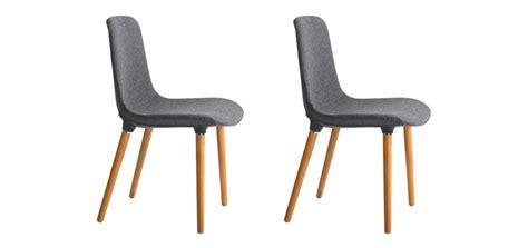 chaise aldrik lot de 2 adoptez les chaises aldrik lot de 2 224 prix mini rdv d 233 co