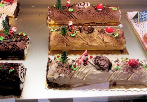 decoration buche noel