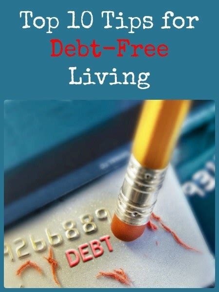 10 Tips For Debtfree Living  Backdoor Survival