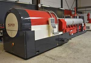 Pipe end forming machine | Copier