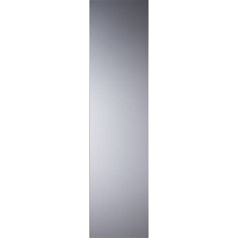 miroir bords polis rectangle 140x50cm b chez mr bricolage