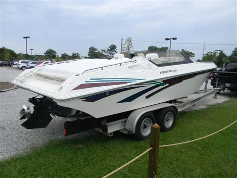 Used Fountain Boats by Fountain Cuddy Cabin Boat 1997 For Sale For 19 995