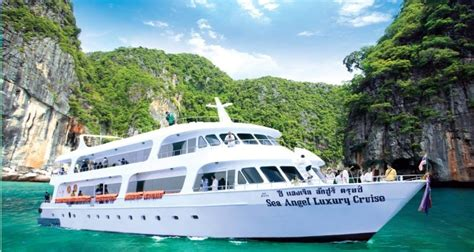 Angel Boat Cruises by Phi Phi Island By Cruise
