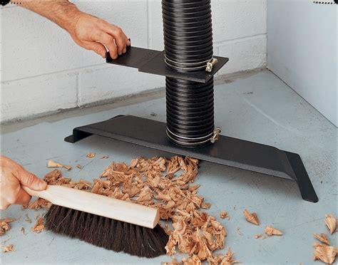 dust collector floor sweep