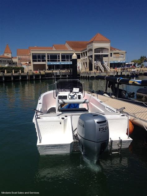 Boats Online Polycraft by Polycraft 5 99 Frontier Centre Console Mindarie Boat Hire