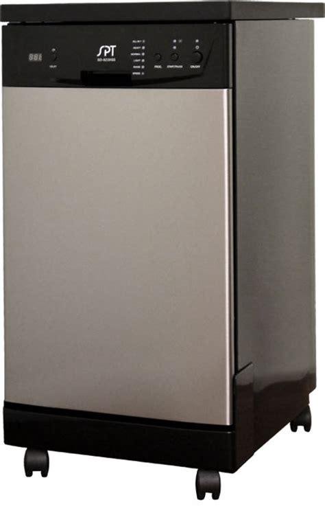 sd 9241ss 18 quot energy portable dishwasher stainless