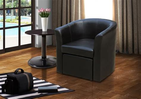Stylish Faux Leather Tub Chair With Matching Footstool Garage With Living Space Floor Plans Guest Home House Two Master Suites On Main Warehouse Free Denver Art Museum Plan Popular Open Cottage 1000 Sq Ft Create In Sketchup