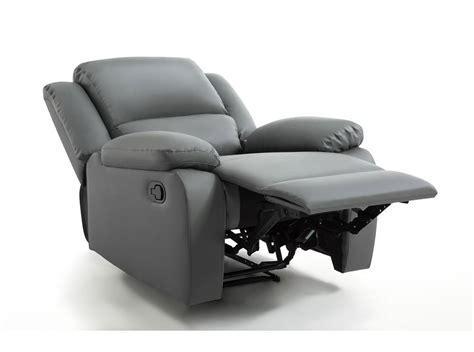 fauteuil relaxation 1 place simili cuir detente