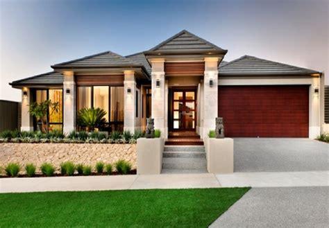 Modern Home Exterior Design, One Story Modern Home Design
