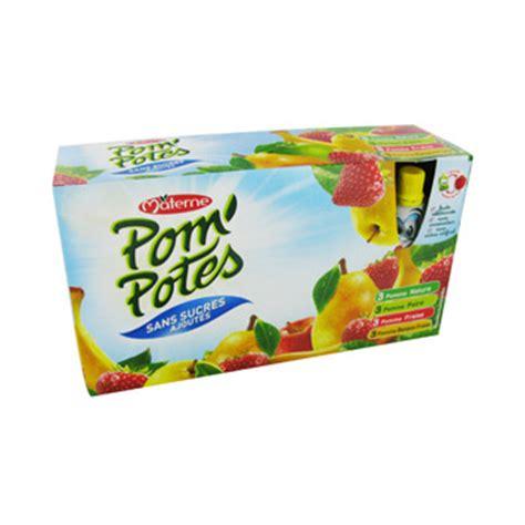 pom potes sans sucre ajoute multivariete 12x90g achat en ligne simply market