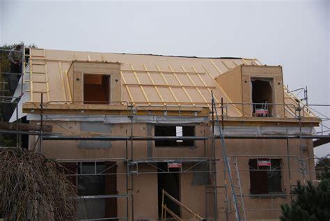 isolant suppl 233 mentaire sur le toit la fibre de bois r 233 novation passive