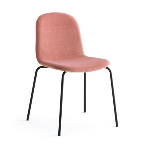 Chaise Velours Tibby Ampm  La Redoute